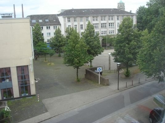 Aussicht zum Weberplatz