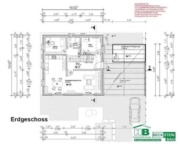 Haus 2 Grundriss Erdgeschoss
