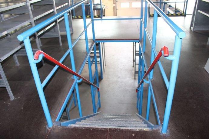 Treppe zum Lagerboden