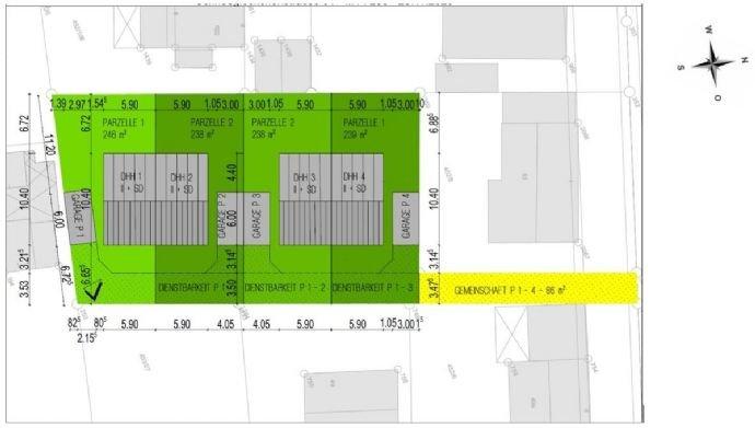 Flächenaufteilungsplan