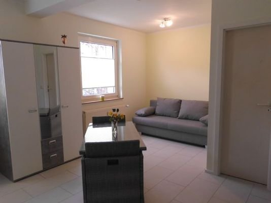 Blick ins Apartment