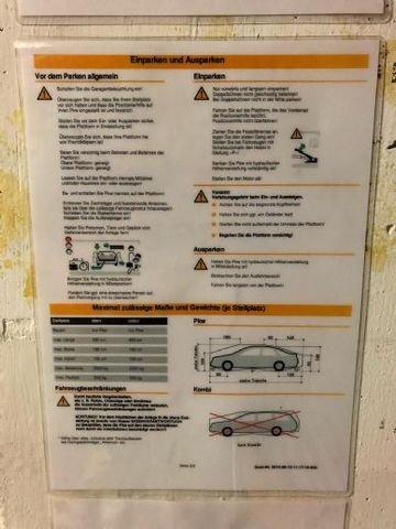 Zulässige Fahrzeugabmessungen