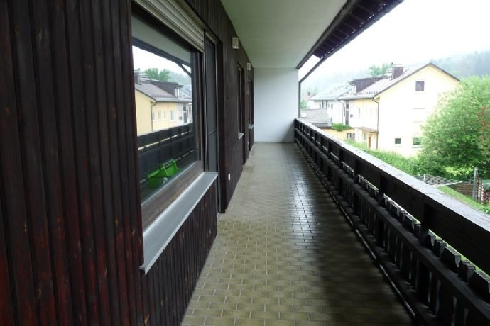 Loggia im Obergeschoss