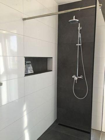 begehbare XXL- Dusche