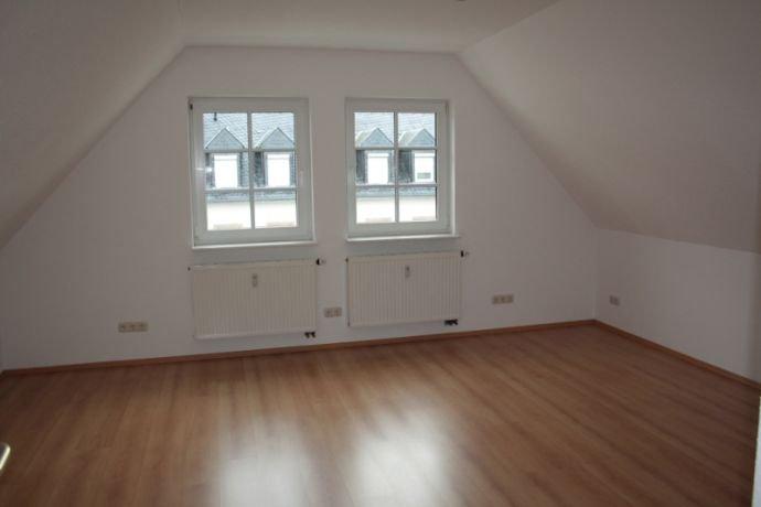 Wohnzimmer am Giebel