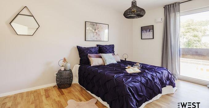 Schlafzimmer (Musterwohnung)