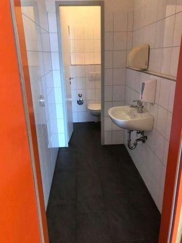 Ein WC in Ex Subway Fläche