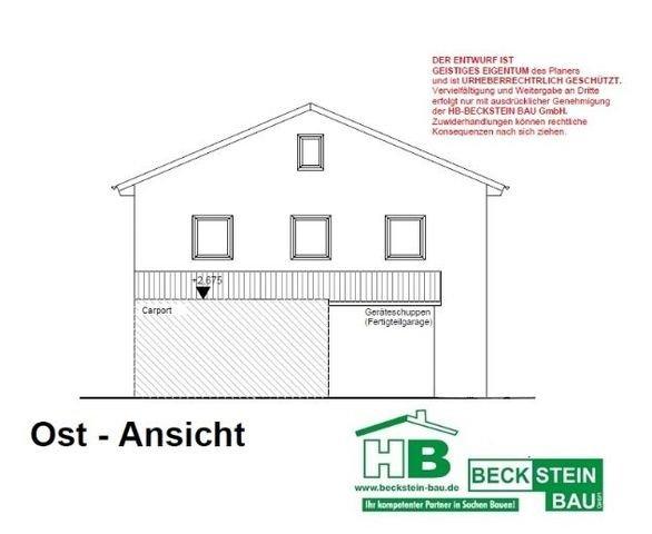 Haus 2 Ansicht Ost