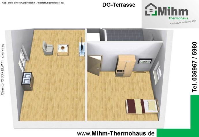 Mihim-Thermohaus_Classico72SD+ELW71_DG-Terrasse