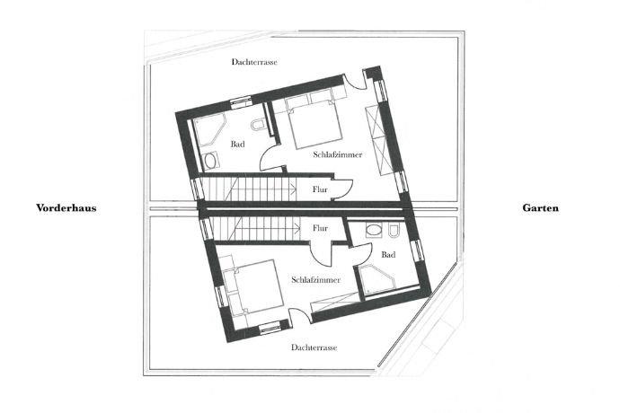 Planung Grundriss 2. Obergeschoss