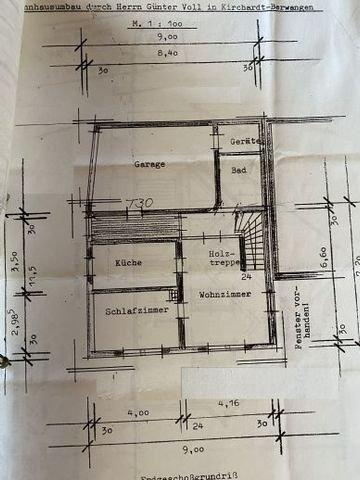 Wohnhaus Grundriss EG