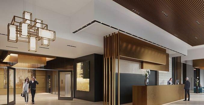 Lobby mit Concierge-Service