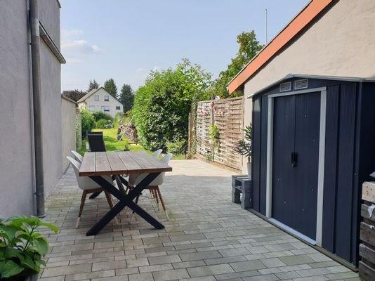 Stauraum für Gartengeräte, Holz, etc.