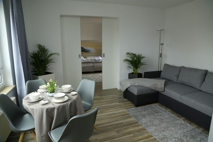 Max Aparthotel - Beispiel Wohnzimmer Suite