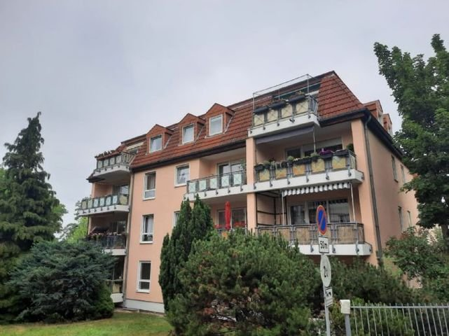 Hausansicht - Balkonseite