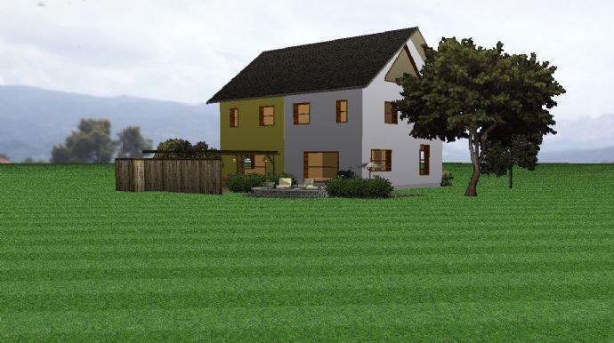 Doppelhaus Beispiel Rückseite