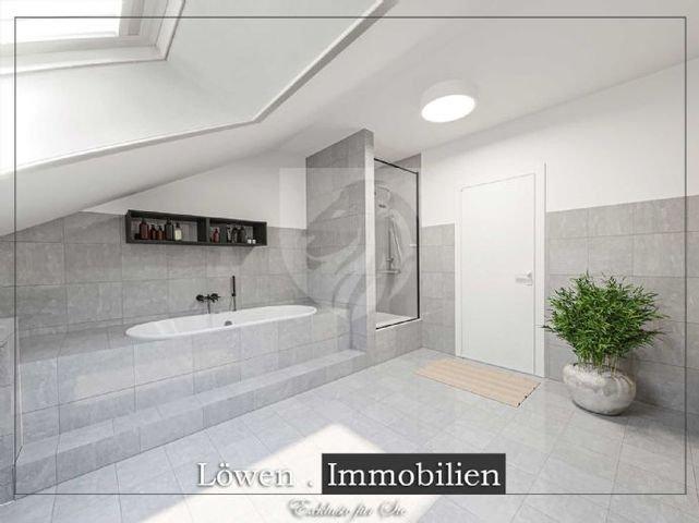 Badezimmer Wanne & Dusche DigitalStaging