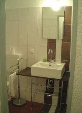 Apartment Wüste, Badezimmer