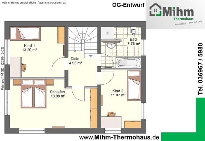 Mihm-Thermohaus_Primero174SD-Ost_OG-Entwurf