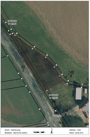 Luftbild Baugrundstück Thüringer Straße