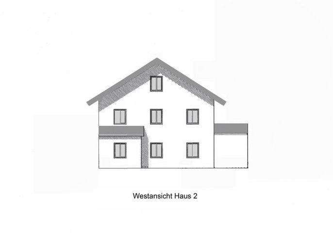 Ansicht Westen Haus 2