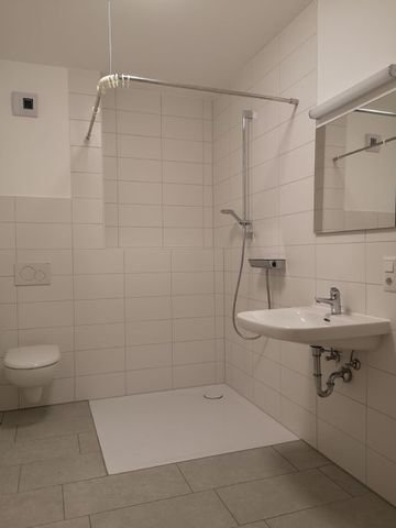 Befahrbare Dusche
