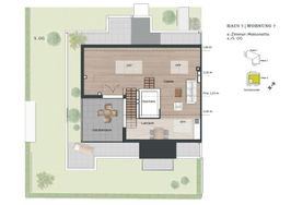 Grundriss 5. OG - Penthouse