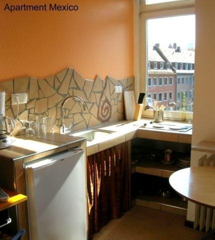Apartment Mexico, Küche