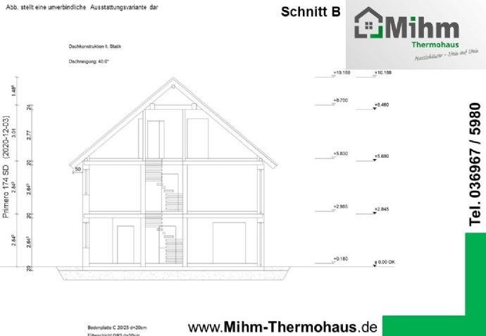 Mihm-Thermohaus_Primero174SD-Ost_Schnitt-B
